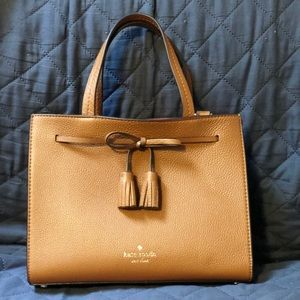 Brown Kate Spade satchel